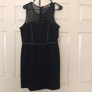 Vera Wang little black dress size 13 NWT